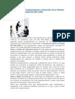 15 Etapas Para La Implementación y Desarrollo de Un Sistema de Gestión de Calidad ISO 9001