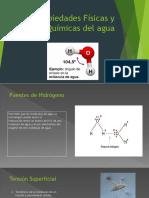 Propiedades Físicas y Químicas Del Agua 16 Nov
