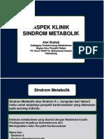 Pleno Tutorial Sindrom Metabolik ppt