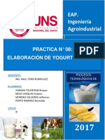 Yogurt Resultados