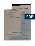 form signed