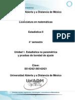 U1. Estadistica No Parametrica