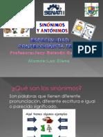 Sinonimos y Antonimos Ppt