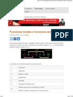 Funciones tonales _ guitarmonia