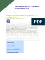 Tutorial De Programación De PICs En Asembler.docx