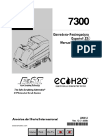 Moto-Barredora Tennant 7300