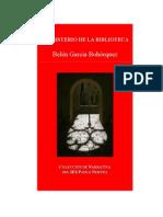 El misterio de la biblioteca de Belén García