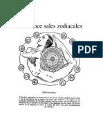 Las Doce Sales Zodiacales