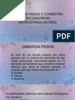 Gimnasia Pasiva y Corrientes Psicomotrices (Microestimuladores)