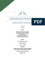 Cancer de Prostata - Marcadores Tumorales
