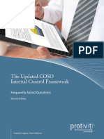Updated COSO Internal Control Framework FAQs Second Edition Protiviti