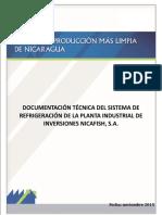 Reporte Sistema de Amoniaco NICAFISH