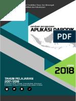 Panduan Manual Dapodik Versi 2018