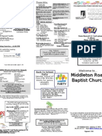 Church Bulletin 8-8