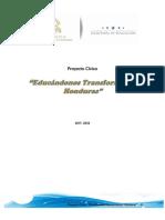 Propuesta PROYECTO CIVICO 2017- 2032 Educándonos Transformamos Honduras