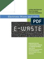Electronic Waste (S.MOHAMED ISMAIL,G.LOKESH KUMAR 2nd YEAR EEE).pdf