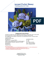 Amigurumi Pocket Bunny