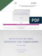 DEL CORRAL - Andante Con Variaciones