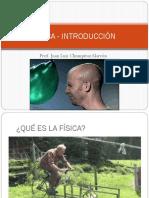 FÍSICA - INTRODUCCIÓN
