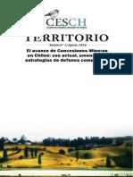 Concesiones mineras en Chiloe