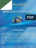Conceptos Básicos - Mat Financiera