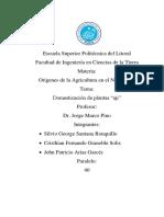 Doc de Investigacion de Origen Del Aji