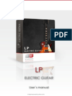 Ilya Efimov LP Electric Guitar Manual