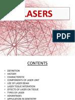 Laser - By  Alina Khan (BDS-IV)