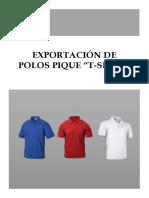 Plan de Exportación Polos