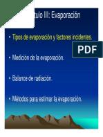 03 Hydrol Evaporación
