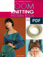 Loom Knitting Pattern Book