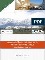 3 - Aspectos Geomecanicos Planificacion Minas - C. Caceres - UAI