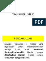 PENGETAHUAN TRANSMISI LISTRIK