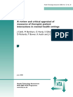 A Review and Critical Appraisal of 2008