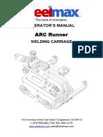 Arc Runner Welding Carriage Operator Manual