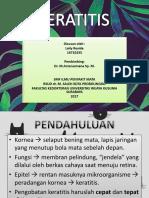 Keratitis Lays Ppt 1