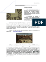 Huertas Sombras de La Plaza Ayor Guía de Lectura