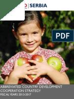 USAID - serbia-CDCS-2013-2017