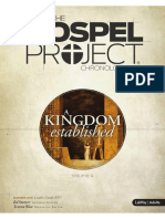 Gospel Project Volume 4 - A Kingdom Established