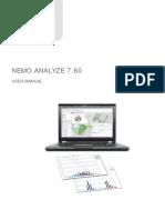 Nemo Analyze Manual