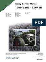 Fendt Vario 936 service manual 1/4