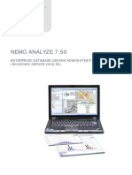 Nemo Analyze Database Server Administration Guide Windows Server 2008 R2