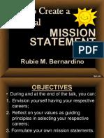 Formulating Statement