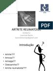 5. Artrite Reumatoide Fisio e to 2012