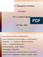 Contract Administration ROLucknow 21-5-16