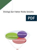 Etiologi Dan Faktor Risiko Selulitis