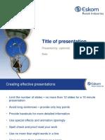 ERI_Presentation Template 2016 Visuals