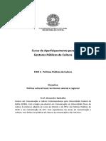 Poli_tica cultural local, territorial, setorial e regional  - Alexandre Barbalho.pdf