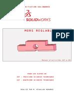 Formation d'initiation SolidWorks [Partie 1 de 5]