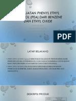 Ppt Pembuatan Phenyl Ethyl Alcohol (Pea)